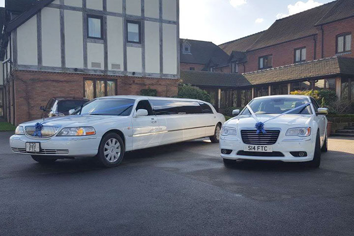 Wedding Car Hire Sutton Coldfield, Four Oaks, Streetly and Mere Green