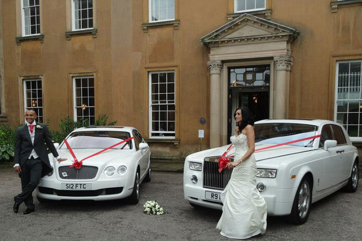Modern Wedding Cars